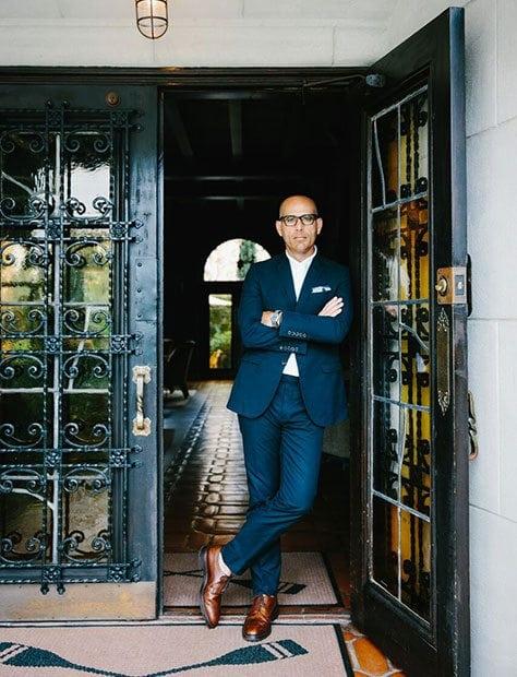 Avi Brosh Standing In The Doorway