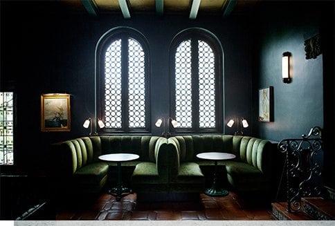 Palihouse Santa Monica Hotel Lounge Booths