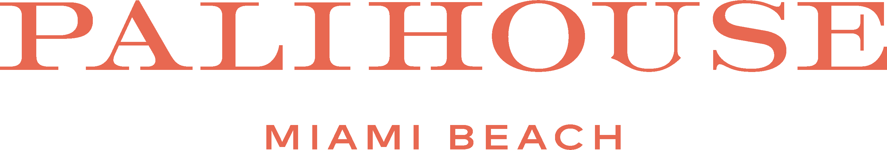 Miami beach logo text