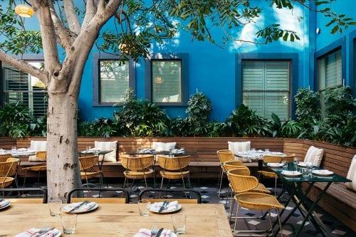 Culver City - Simonette exterior courtyard