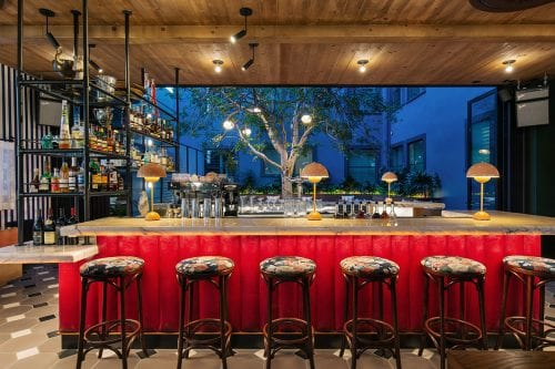 Culver City - Simonette bar - night