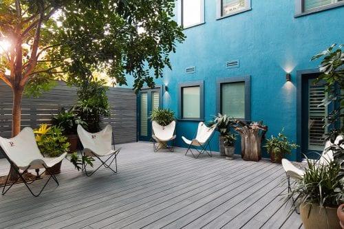 Culver City - semi-private shared patio