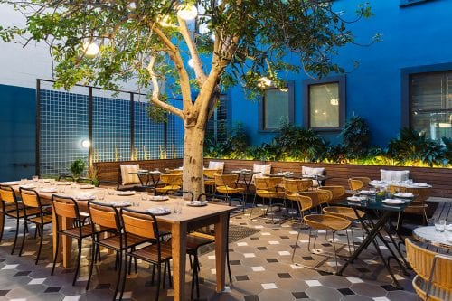Culver City - dining courtyard