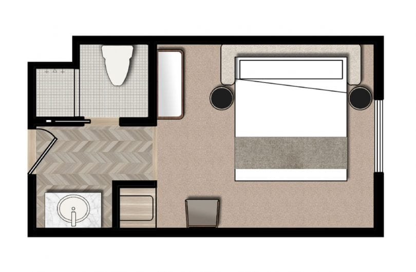 Wwv king floorplan