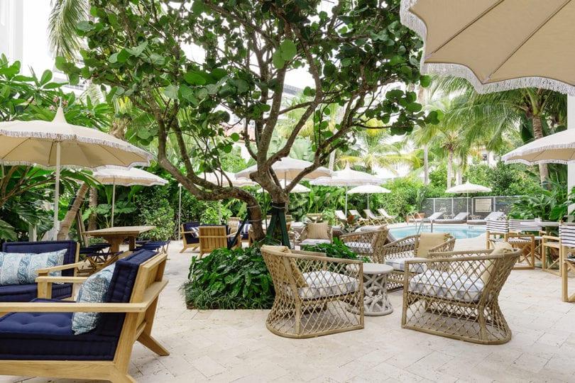 palihouse miami beach - pool lounge