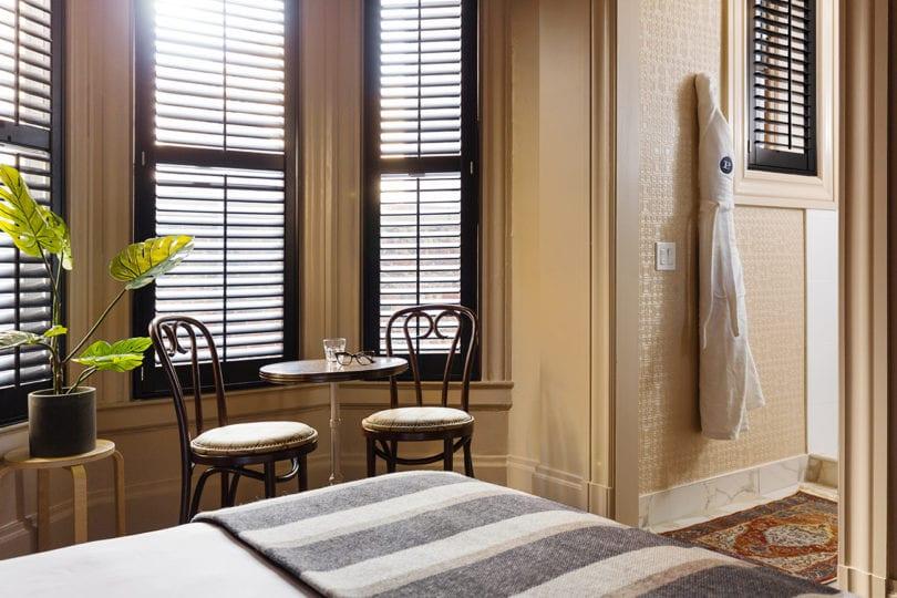 palihotel san francisco bedroom detail