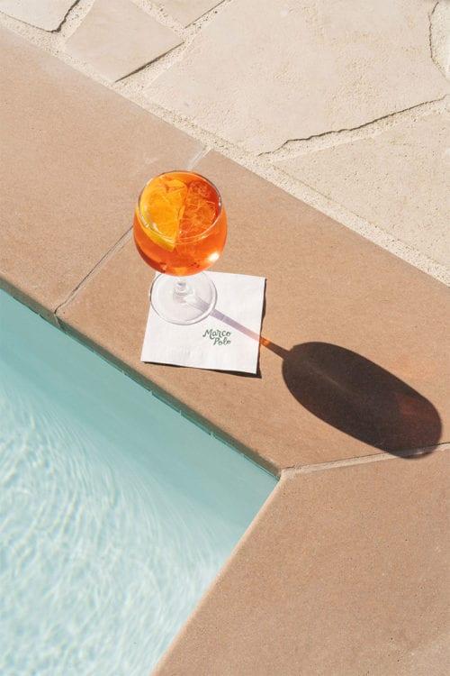 Silver Lake - pool deck drink