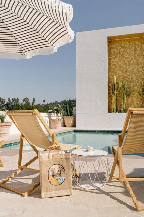 Silver Lake - pool deck seating