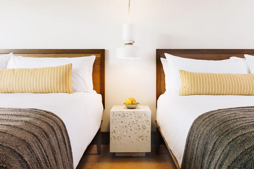 Silver Lake - two beds and night stand