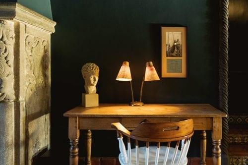 palihouse santa monica- lobby table