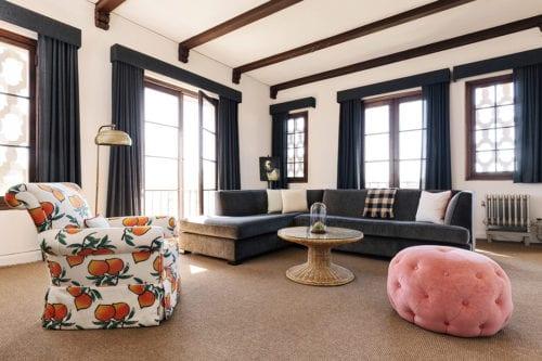 palihouse santa monica- living room