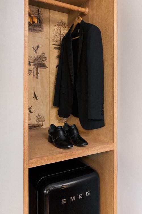 Westwood closet portrait