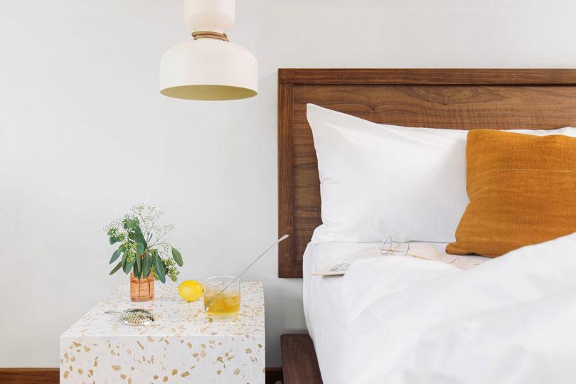 Silverlake queen bedside