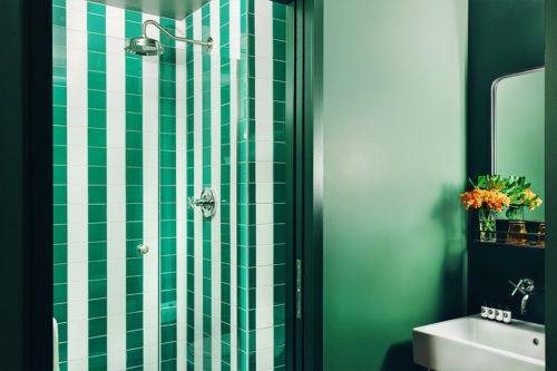 Seatle twin bathroom