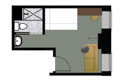 Seattle bunk floorplan