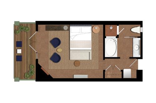 sb floorplan deluxe king