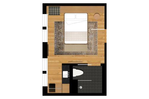 portland queen floorplan