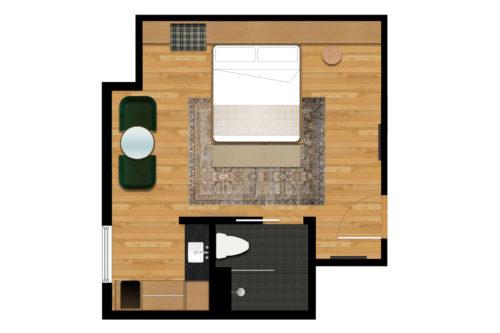 portland deluxe king floorplan