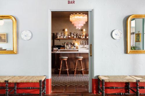 palihouse santa barbara bar entry