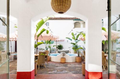 palihouse santa barbara courtyard