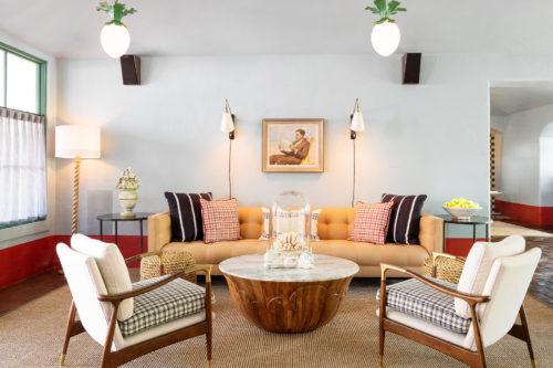 palihouse santa barbara lobby seating area