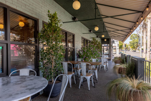 severence outdoor patio