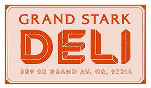 grand stark deli logo