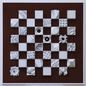 Gil-Bruvel-Chess-set-Red-Brown-board