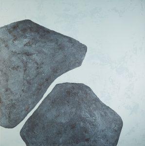 Stones-XVIII_100x100cm-2016