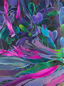 LORENA-GARCIA-MATEU.-Lo-Valioso-2017.Oil-on-canvas.51.2×38.2