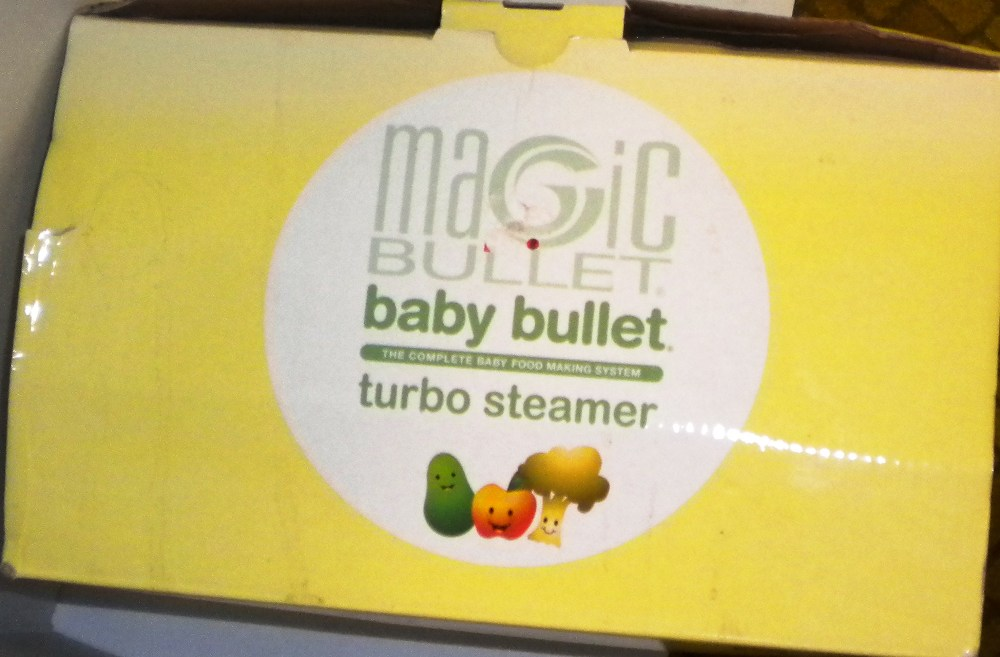Magic Bullet Baby Bullet Turbo Steamer 8 Piece Set Steams