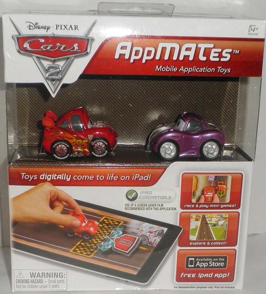 Disney Pixar Cars 2 Appmates For I Pad Lightning Mcqueen