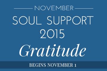 November Soul Support 2015