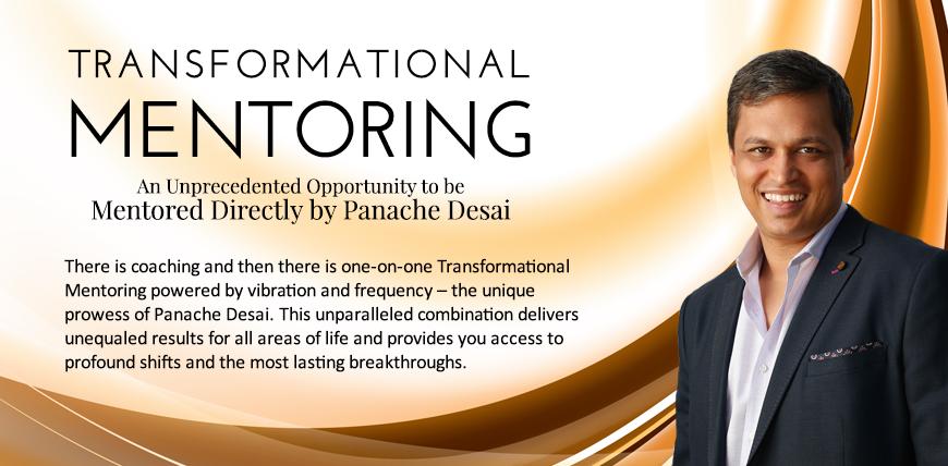 Transformational Mentoring Program - Panache Desai