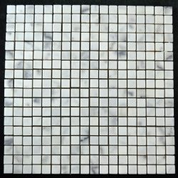 "Honed Beijing White Mosaic 5/8""x5/8"""