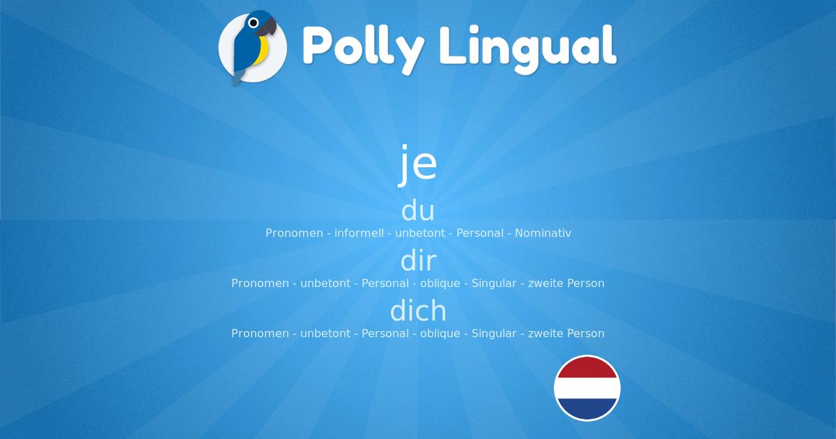 Holländisch Sprechen