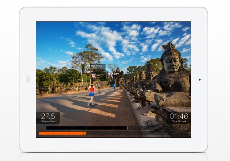 Angkor Wat, Cambodia virtual running route