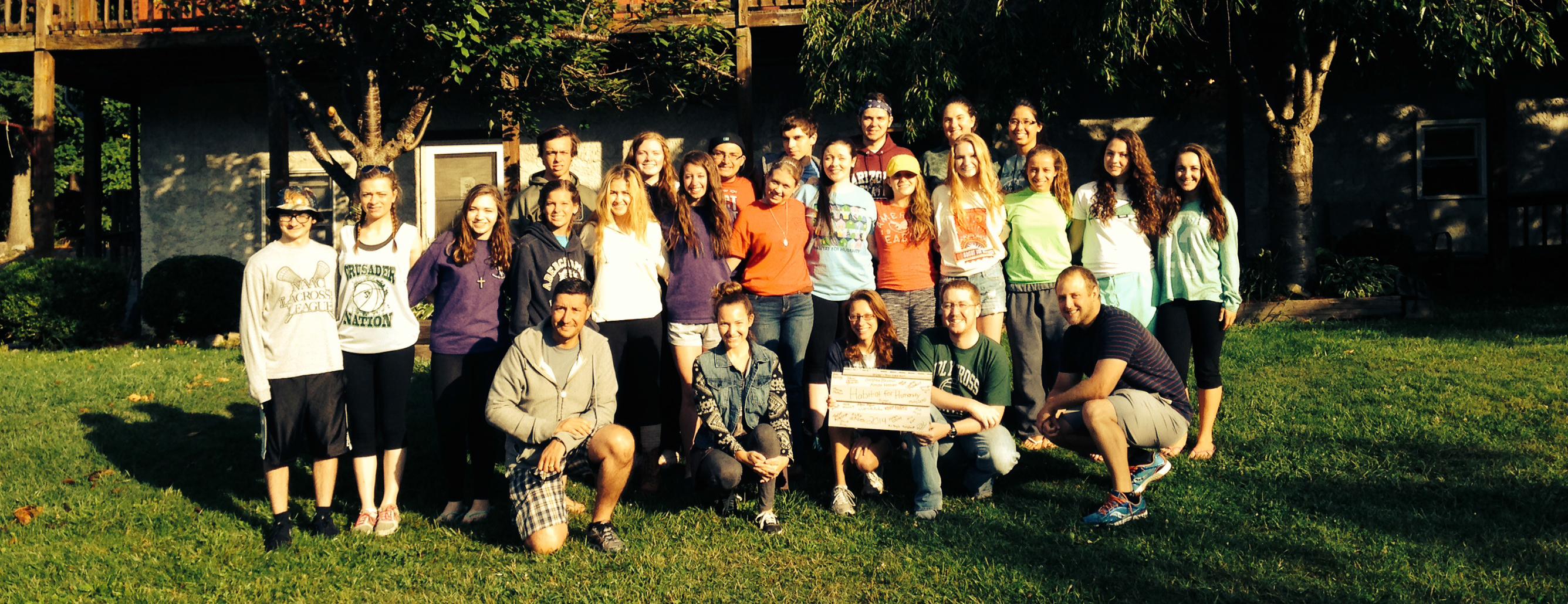 holy cross HS volunteer trip