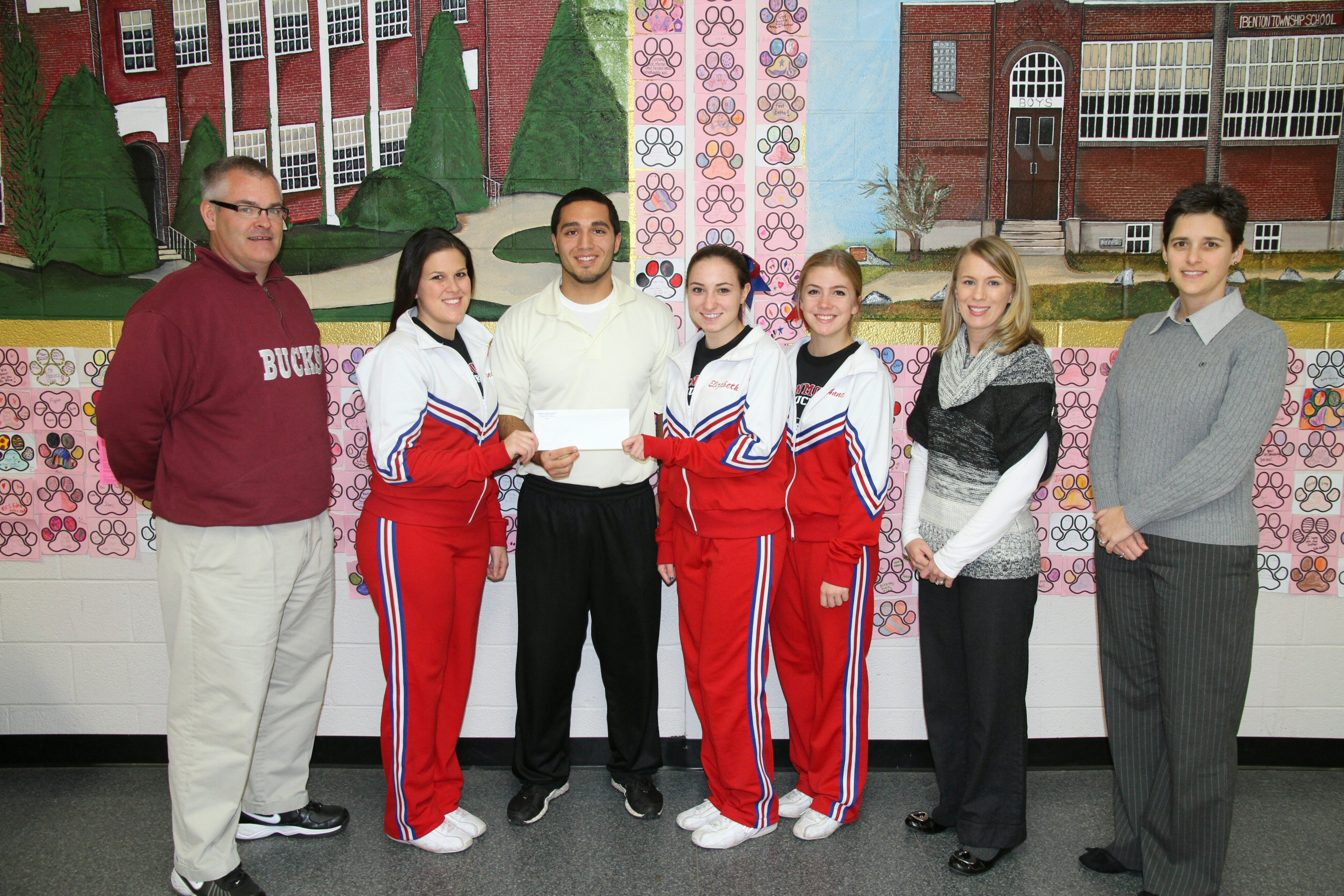 Dunmore Donation for LTHS (2)