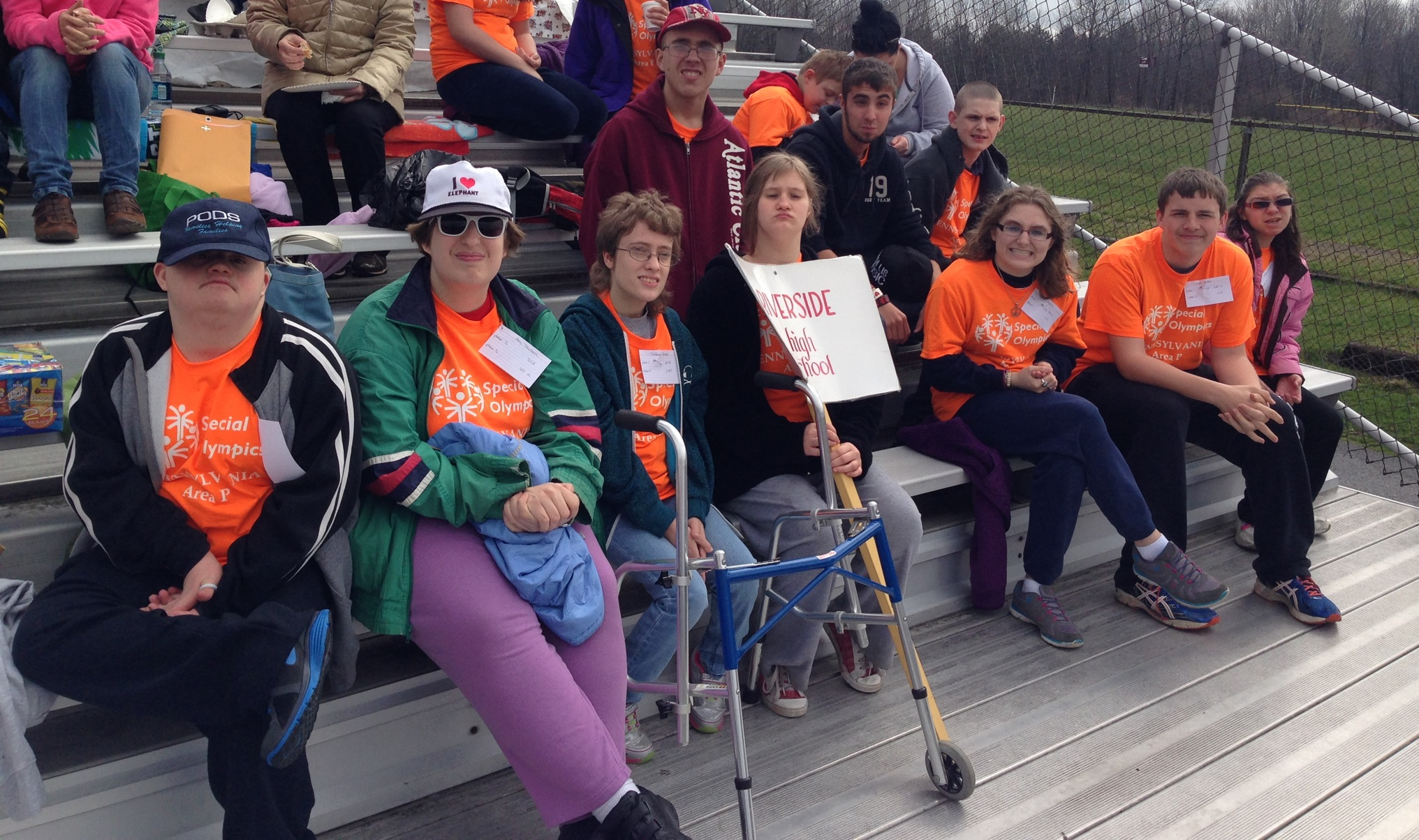 group special olympic