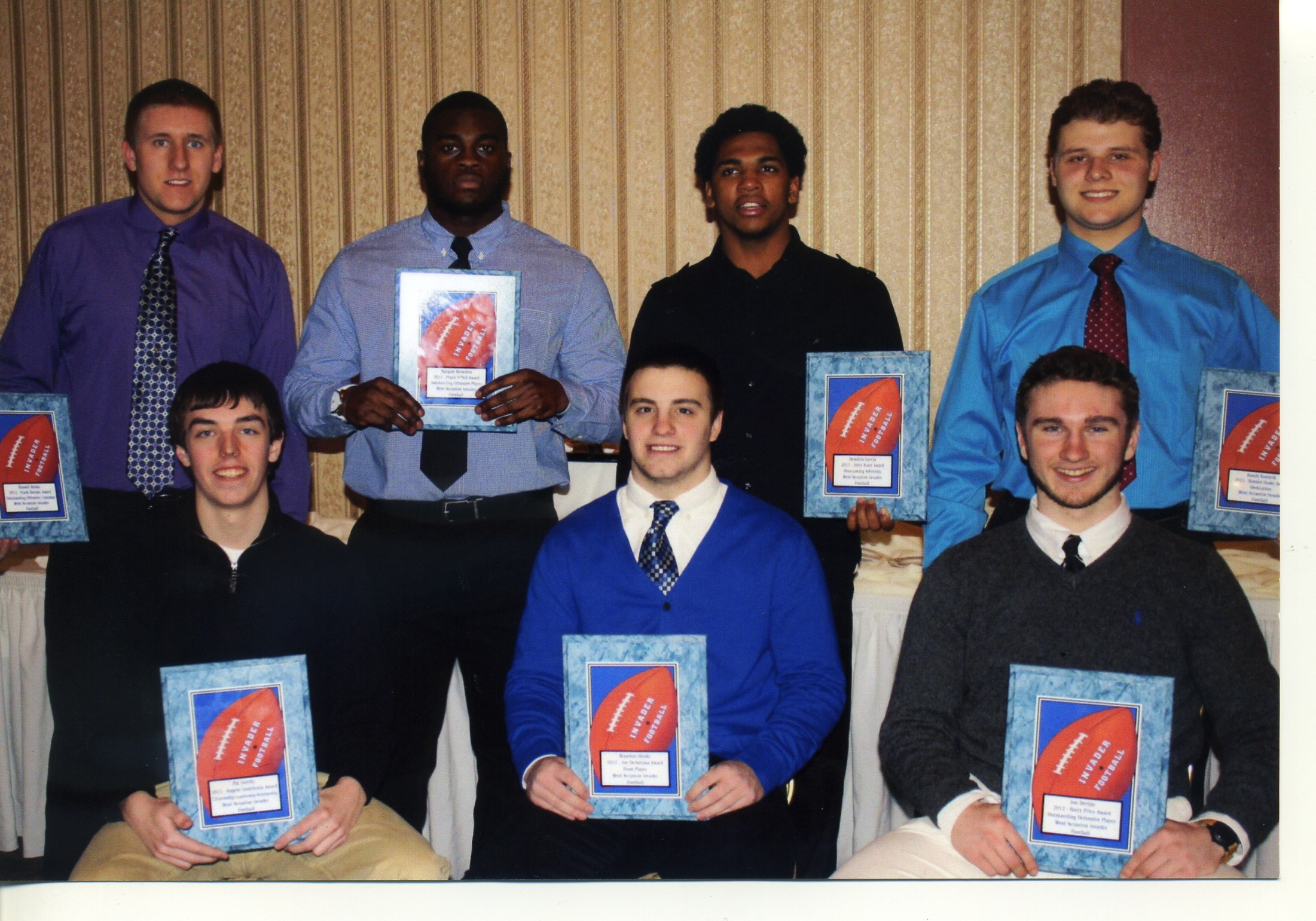 Football Boosters Awards