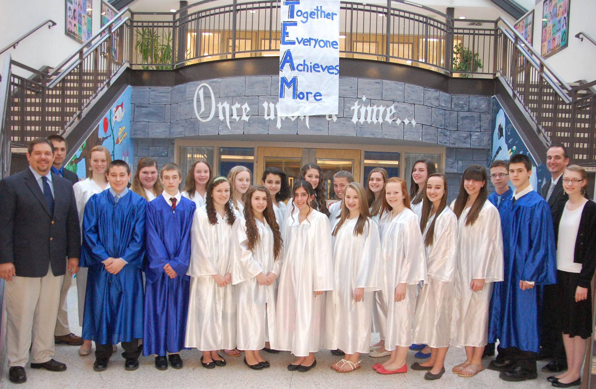MV National Junior Honor Society Inductees 2013