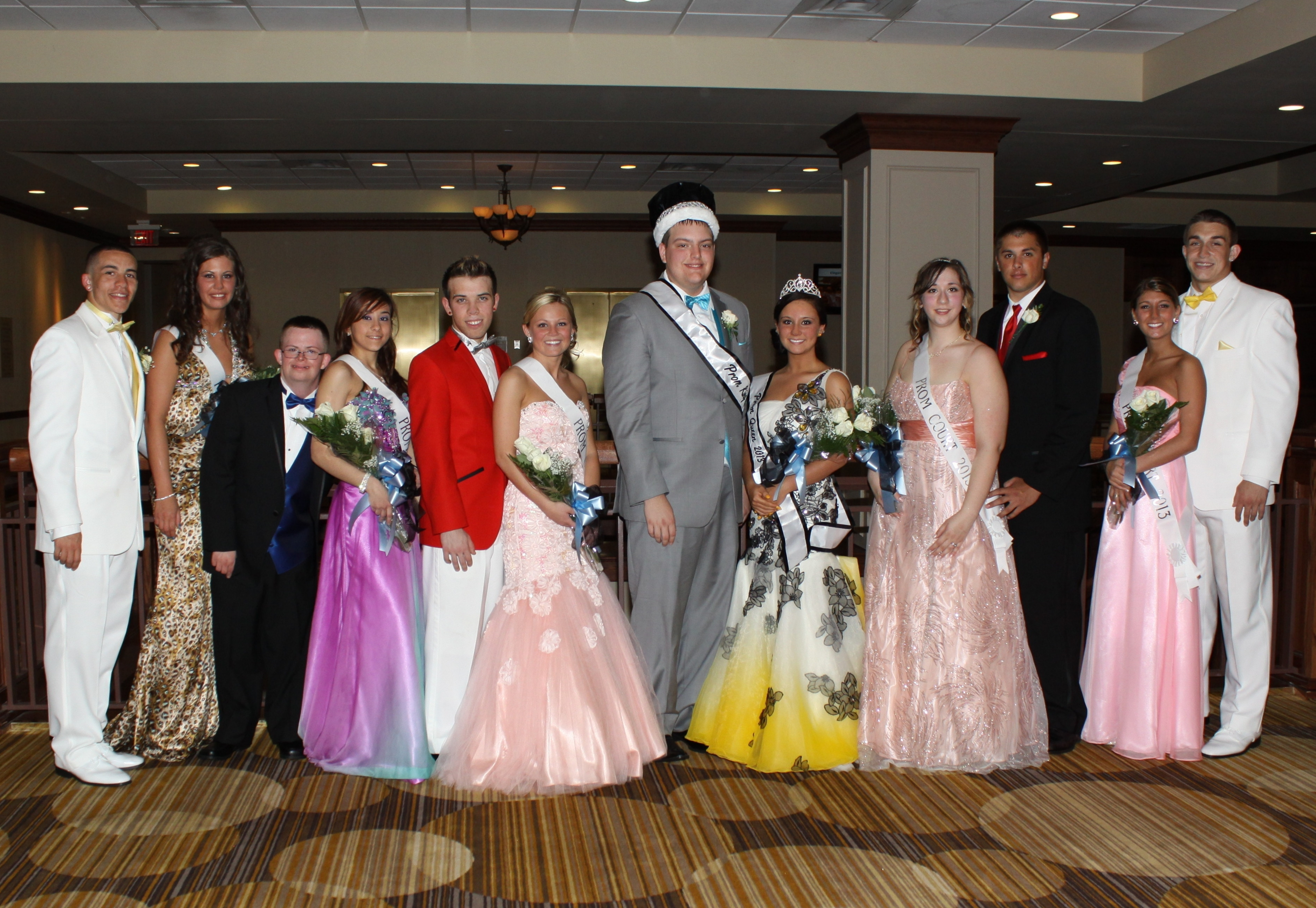 MV Senior Prom Court 2013 e