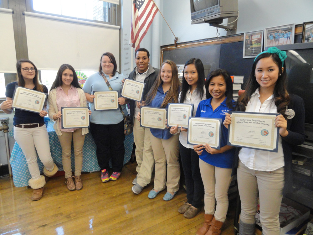 SADD Club - Certificates