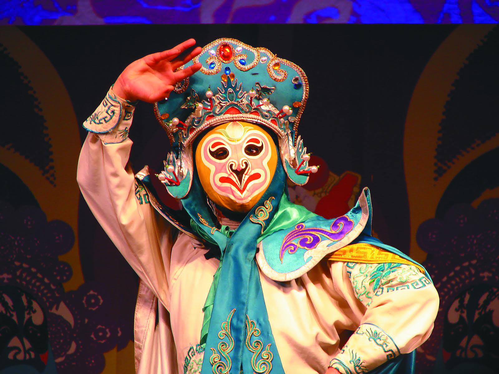 Sichuan Chengdu Opera -Face changing(1)