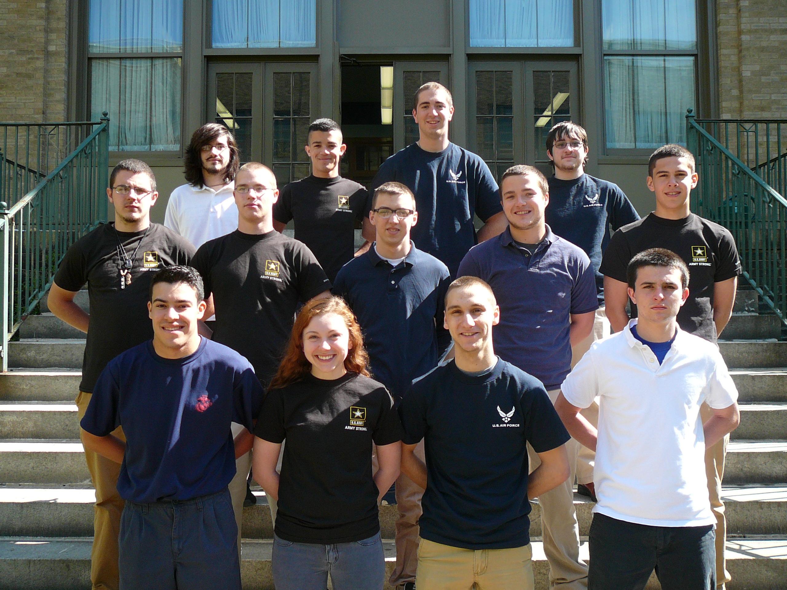 West Scranton Military - Graduates 2013