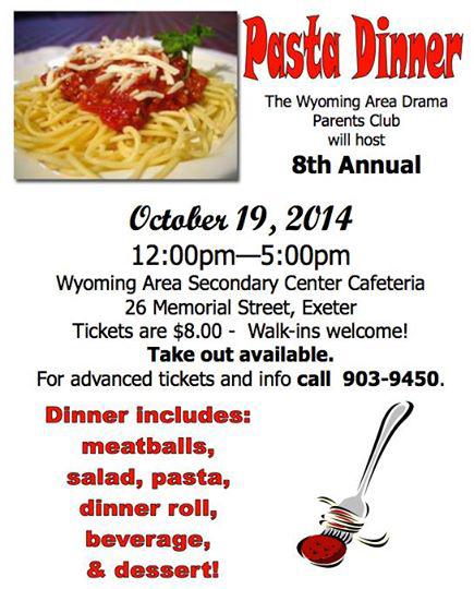 pasta dinner poster1