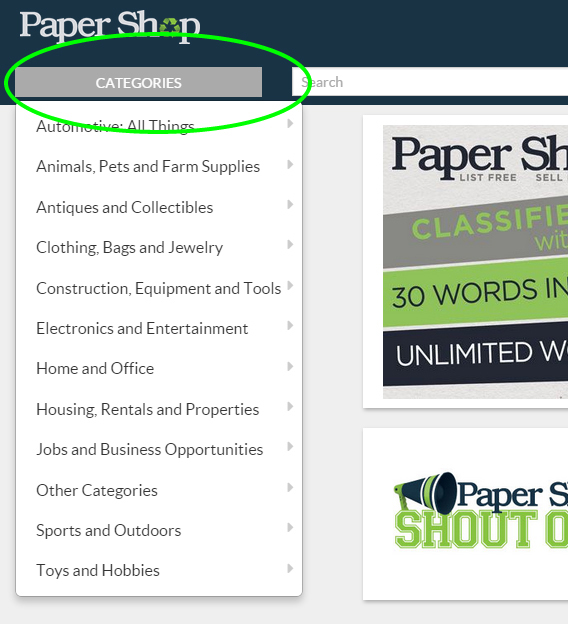 Paper Shop tutorial 1