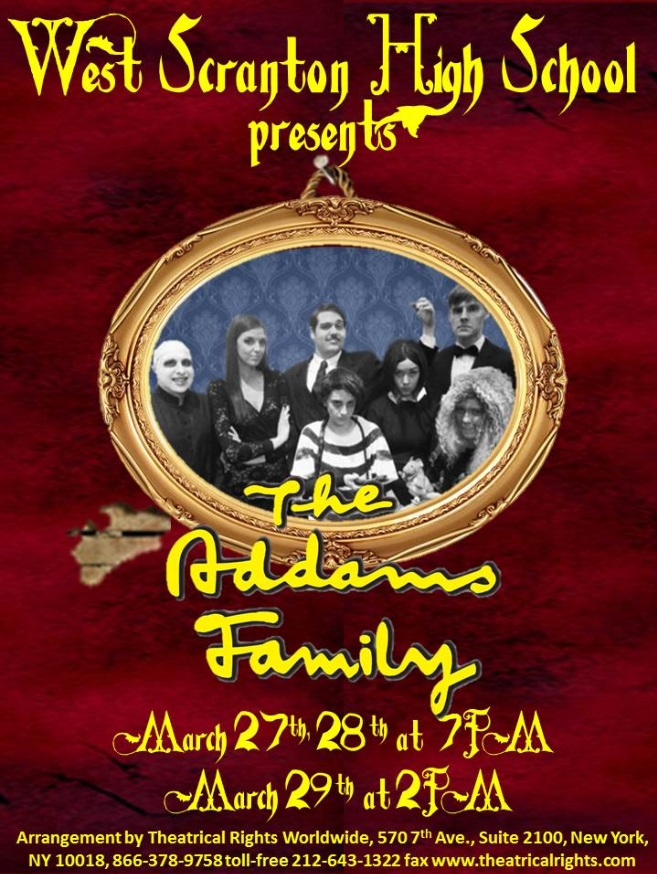 Addams Family Flyer