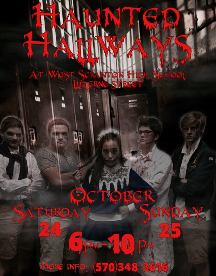 Haunted Hallways 2015 Poster